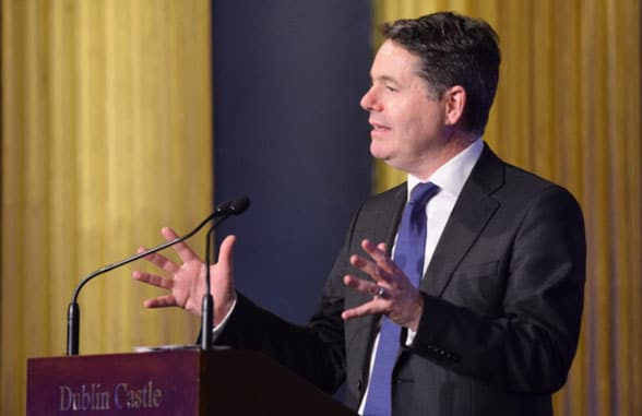 Paschal Donohoe, Ireland's Minister for Finance