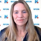 NFCW editor Sarah Clark in a video presentation