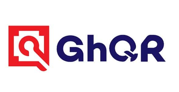 Ghana Interbank Payment and Settlement Systems (GhIPSS) universal QR code payment solution (GhQR) logo