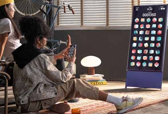 Samsung Sero NFC smart TV
