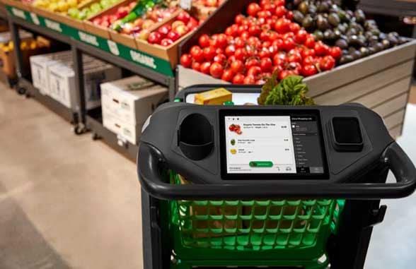 Amazon Dash Cart self-checkout