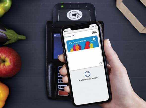 Carrefour loyalty programme points via Apple Pay
