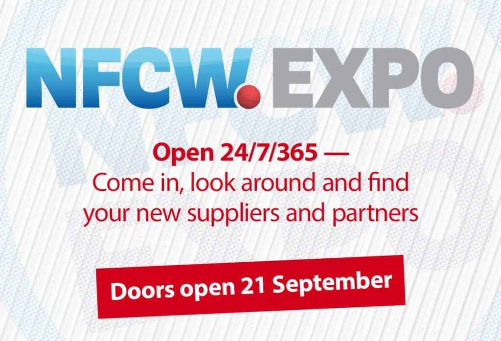 NFCW Expo online exhibition  - Doors open 21 September