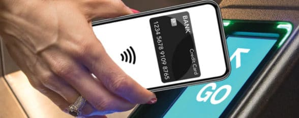New York MTA contactless OMNY payments system