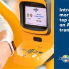 Adelaide Metro contactless payments using a smartwatch