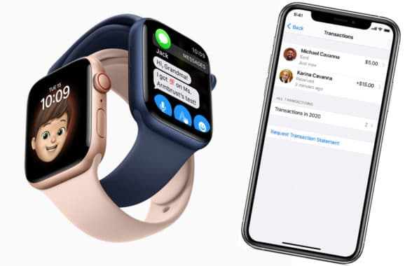 Apple Family Cash on iPhone with Apple Watch