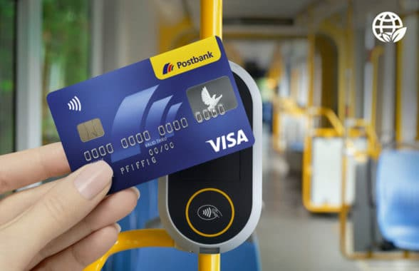Bonnsmart contactless ticketing on a bus