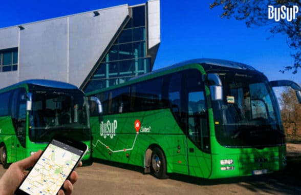 Busup bus using Lsinr contactless ticketing