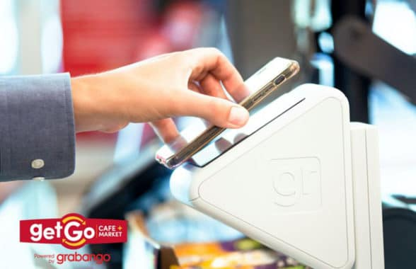 Grabango self-checkout at Getgo Cafe