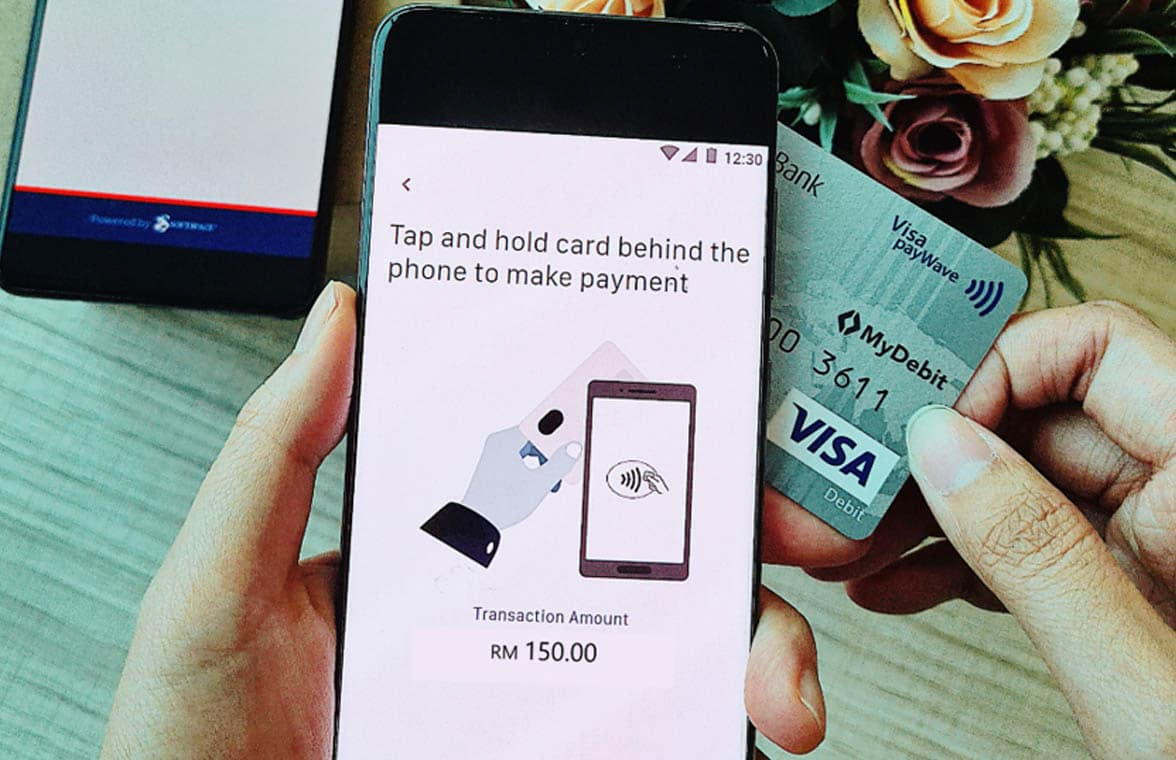 HLB Tap to Phone for NFC contactless payments