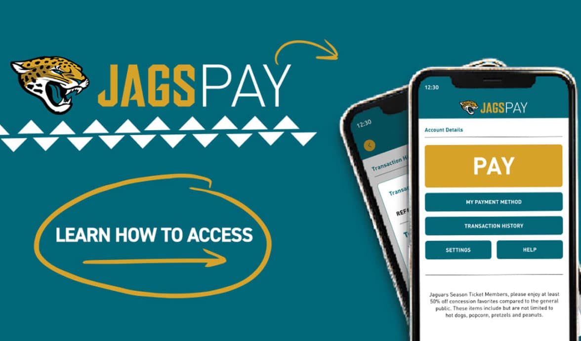 QR payments on Jags Pay mobile wallet