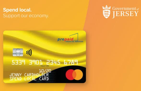 Jersey Spend Local Card with Mastercard