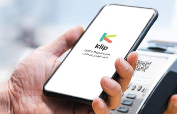 Klip digital cash on a smartphone