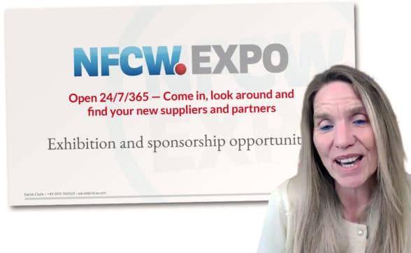 NFCW's editor Sarah Clark explains how the NFCW Expo works