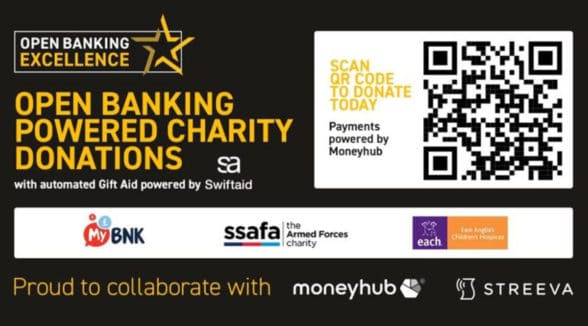 Open Banking Excellence QR code payments transfer solution
