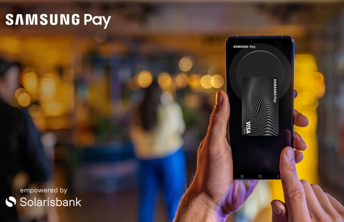 Solarisbank banking as a service on Samsung Pay