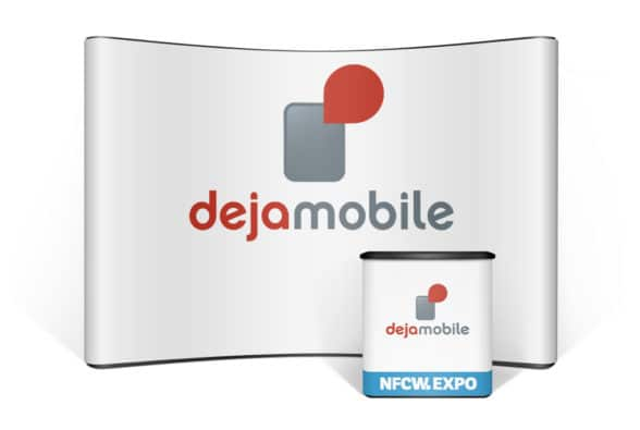 Dejamobile's showcase in the NFCW Expo