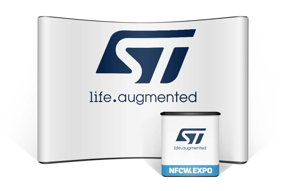 STMicroelectronics at the NFCW Expo