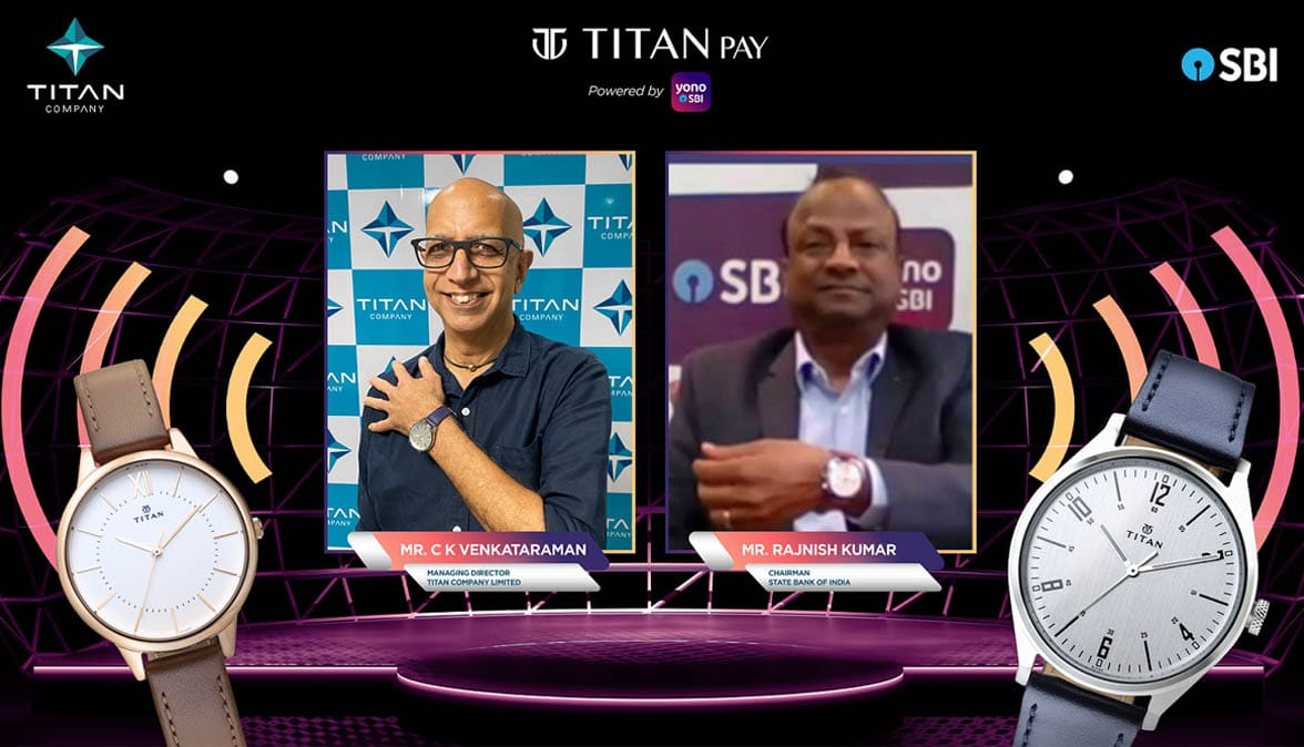 Titan Pay contactless NFC watches using Tappy payments technology