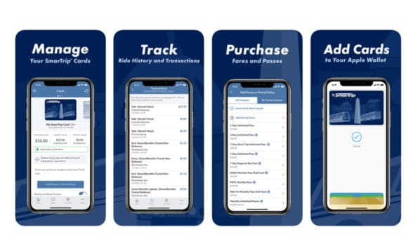 Washington Metro Smartrip transit for Apple Wallet