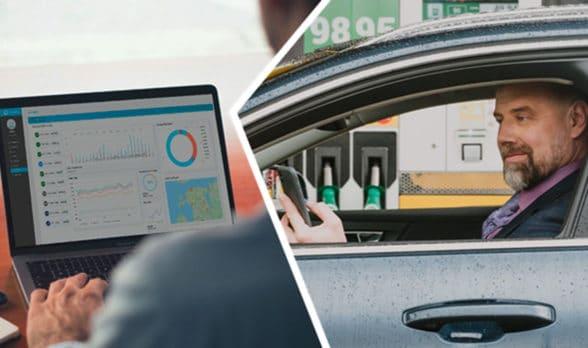 Cloudics mobile app for cashless fuel payment