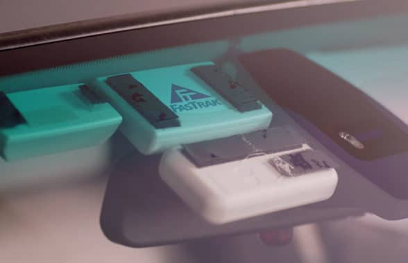 Audi RFID integrated toll module