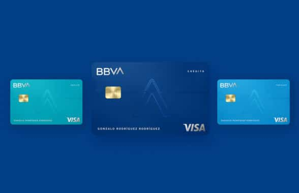 BBVA mobile first credit cards