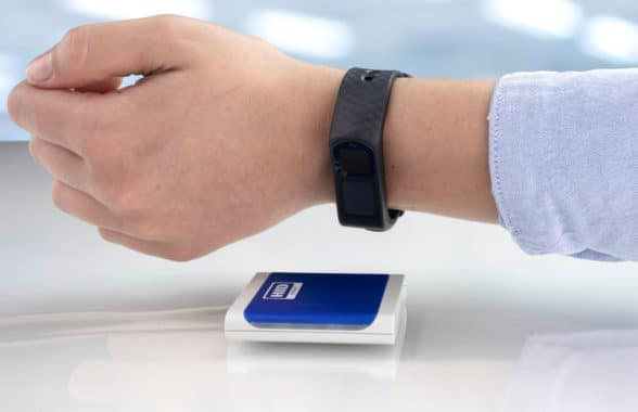 Nymi wristband with HID Global NFC for digital ID