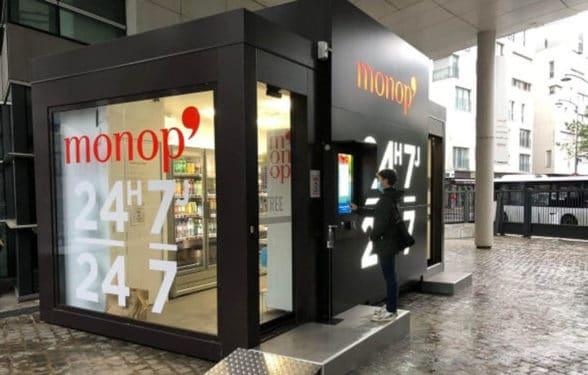 Monoprix automated self-service store