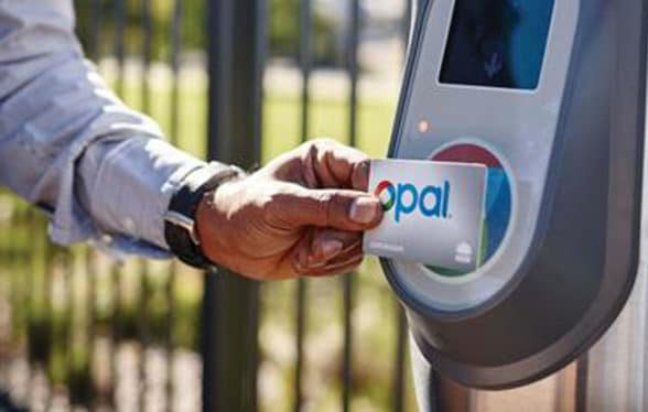 Transport for New South Wales contactless paymentsents