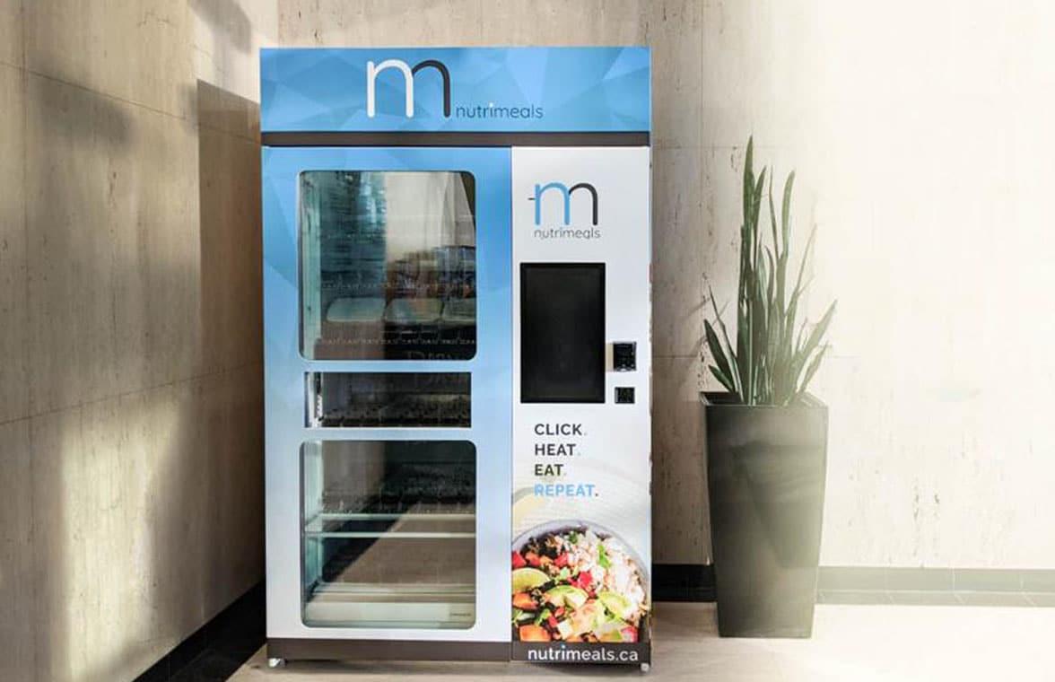 Nutrimeals contactless kiosk