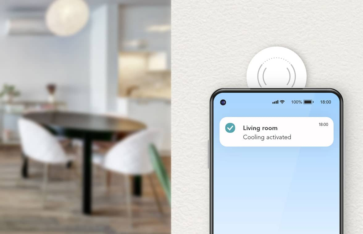 NXP NFC tags for Xiaomi app smart home control