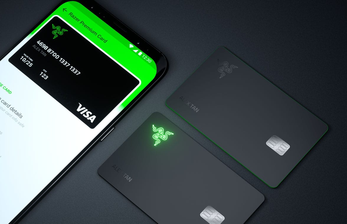 Razer Pay contactless prepaid Razer Card