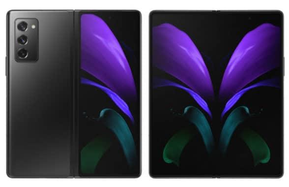 Samsung Galaxy z fold2 NFC smartphone with UWB
