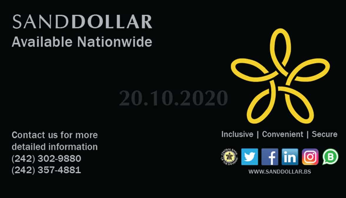 Bahamas CBDC Sand Dollar digital B$