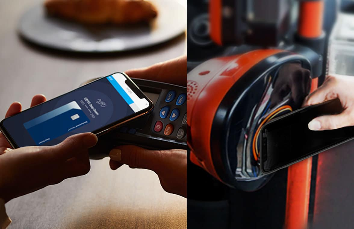 Shinhan Card iPhone NFC contactless payment cases