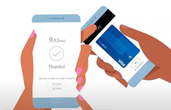 Visa Tap to Phone contactless NFC transaction