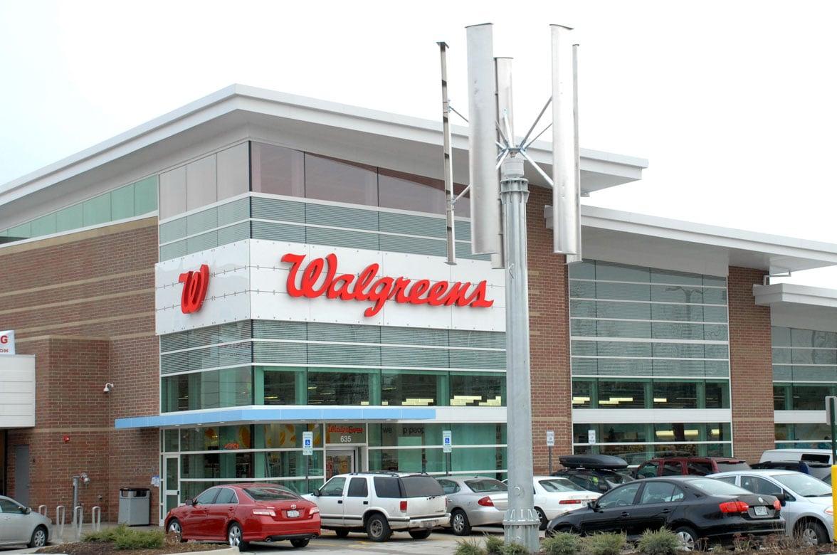 Walgreens shop front