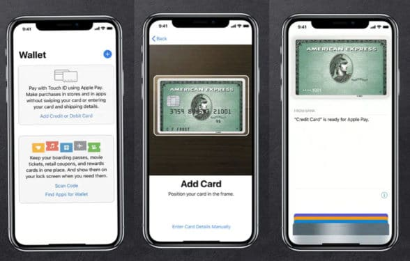 American Express on Apple Pay Digital Wallet