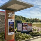 Burger King digital menu board