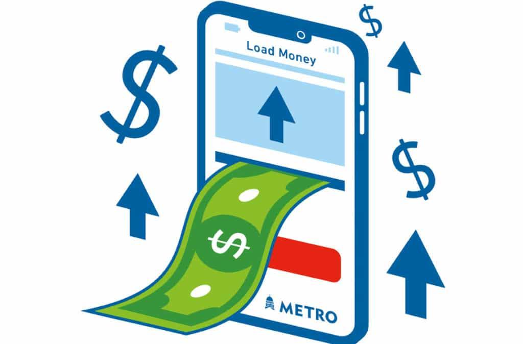 Capital Matro cash to travel app graphic