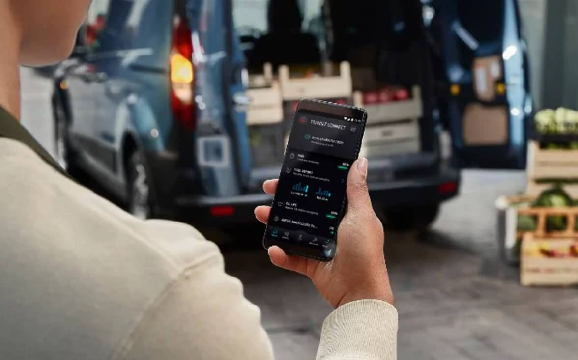 Fordpass Pro connected vehicle payment processing app