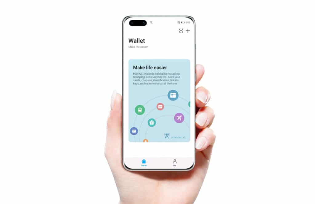 Huawei Pay mobile wallet for NFC mobile payments