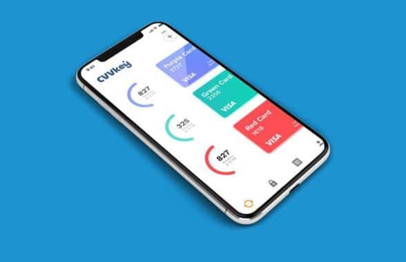 Keyno mobile app for dynamic CVV generation