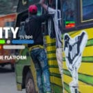 O-city M-pesa contactless minibus fare payments in Nairobi, Kenya