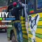 O-city M-pesa contactless minibus fare payments in Nairobi, Kenya