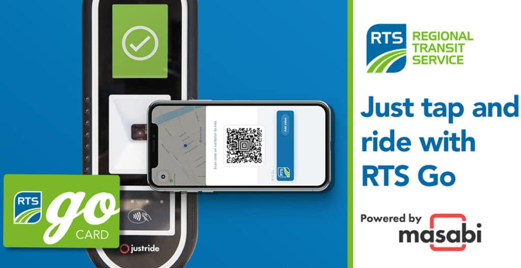 Regional Transit Service RTS Go app and card