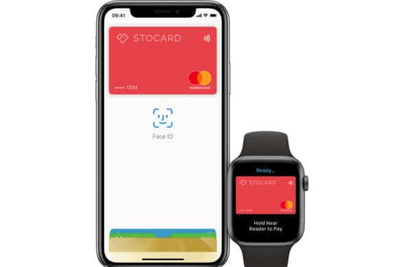 Stocard Pay mobile payments on Apple iPhone and Apple Watch