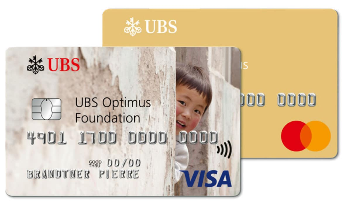 UBS Optimus Foundation eco credit card