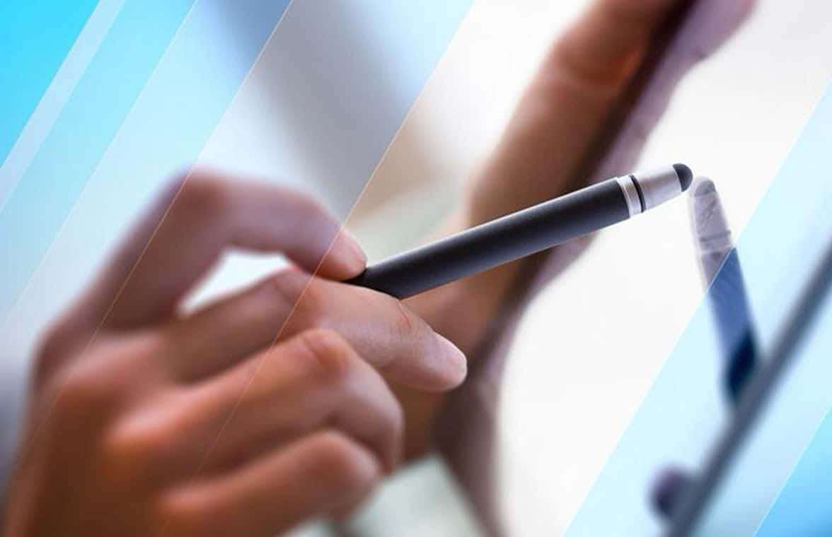 USI NFC rechargeable stylus